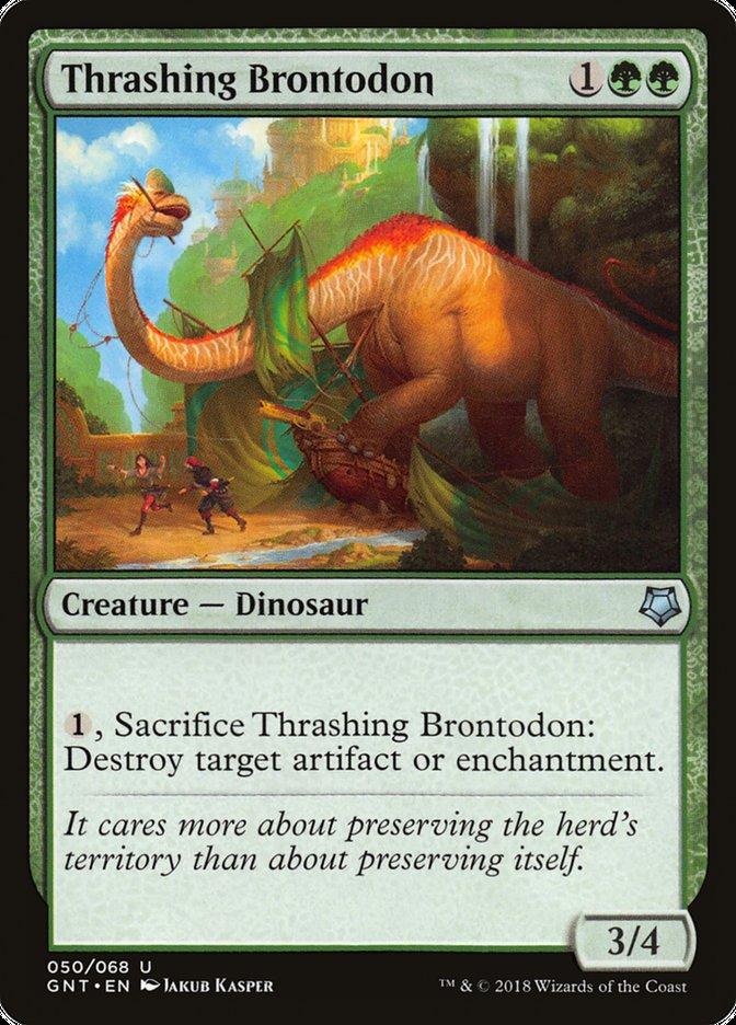 Thrashing+Brontodon