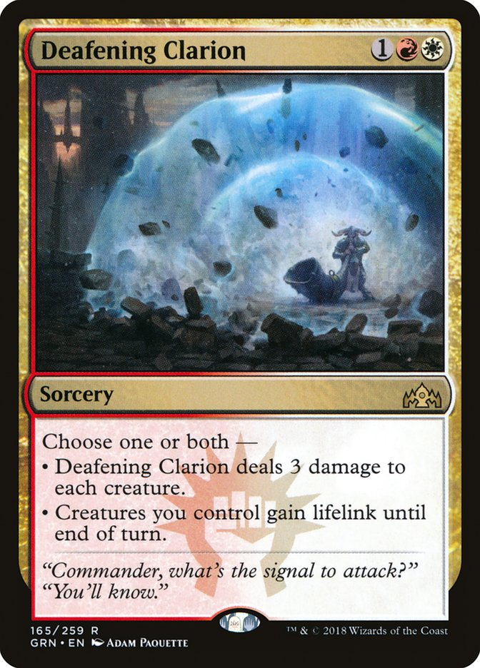 Deafening+Clarion