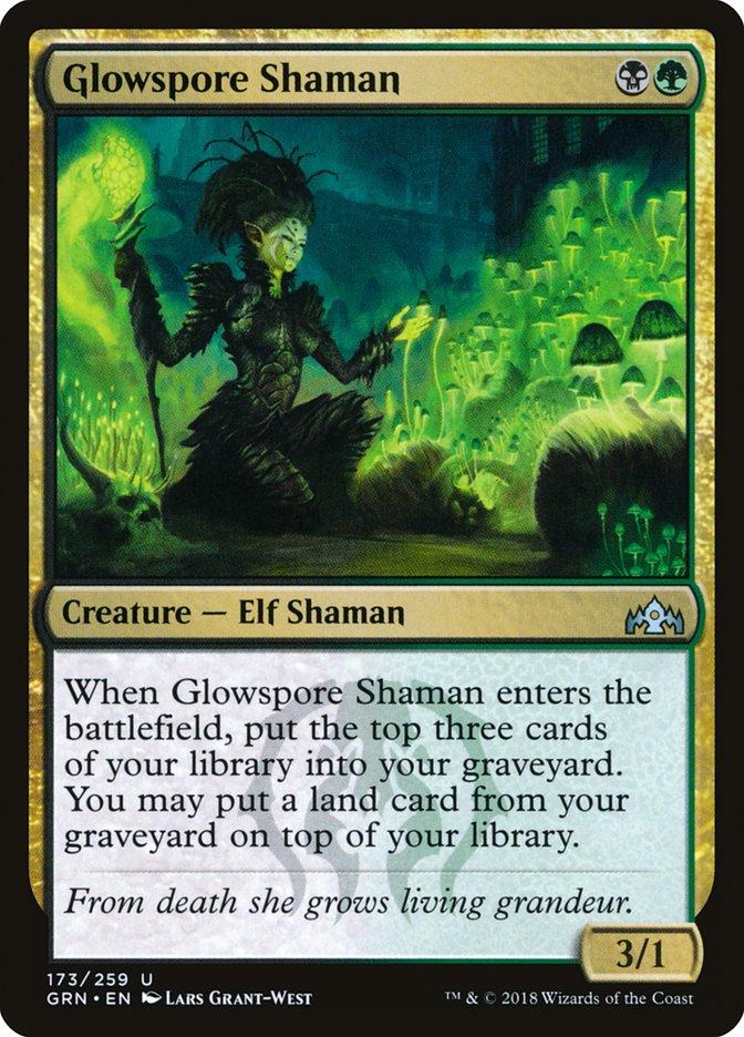 Glowspore+Shaman