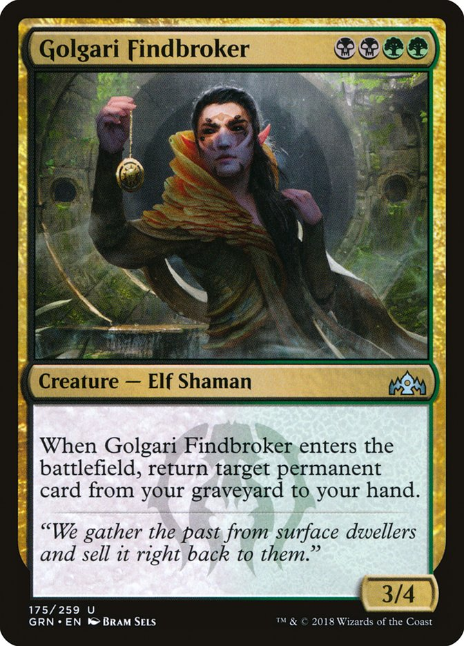 Golgari+Findbroker