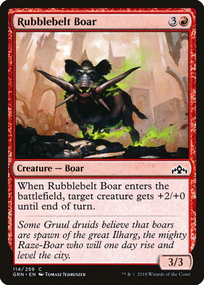 Rubblebelt+Boar