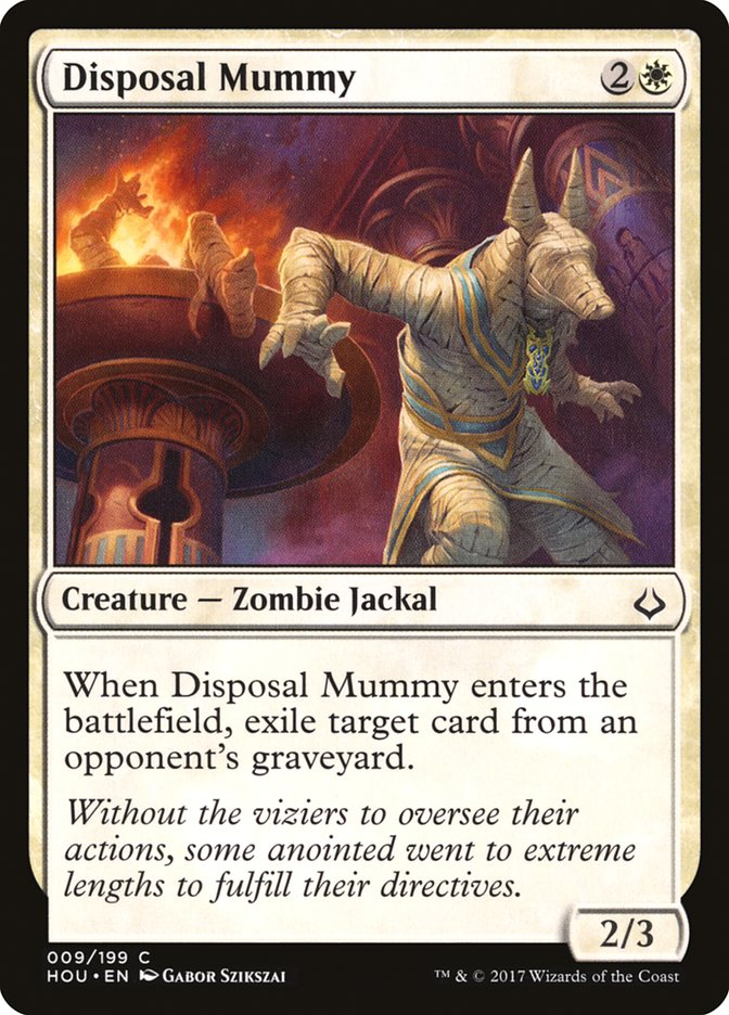 Disposal+Mummy
