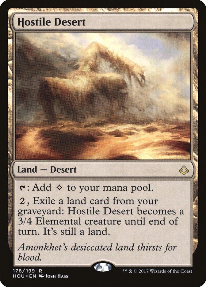Hostile+Desert