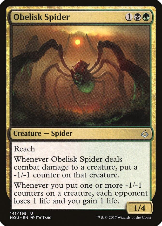 Obelisk+Spider