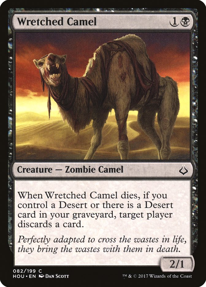 Wretched+Camel