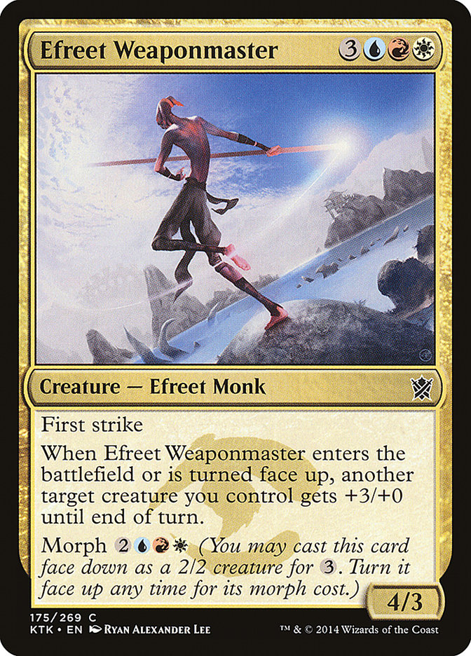 Efreet+Weaponmaster