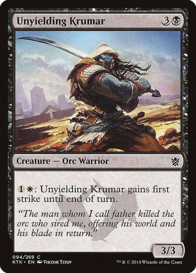 Unyielding+Krumar