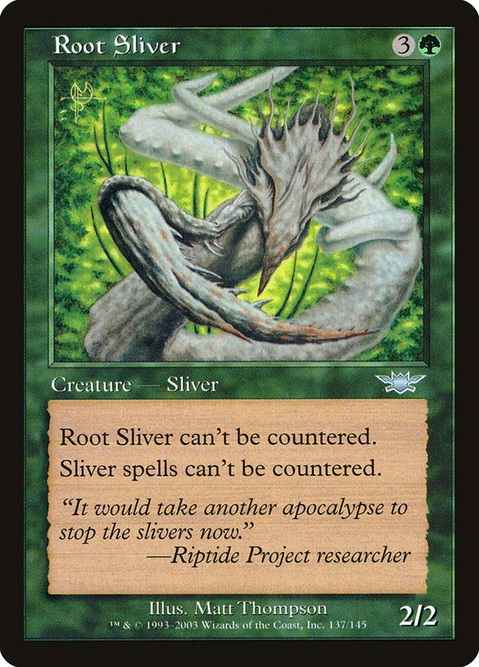 Root+Sliver