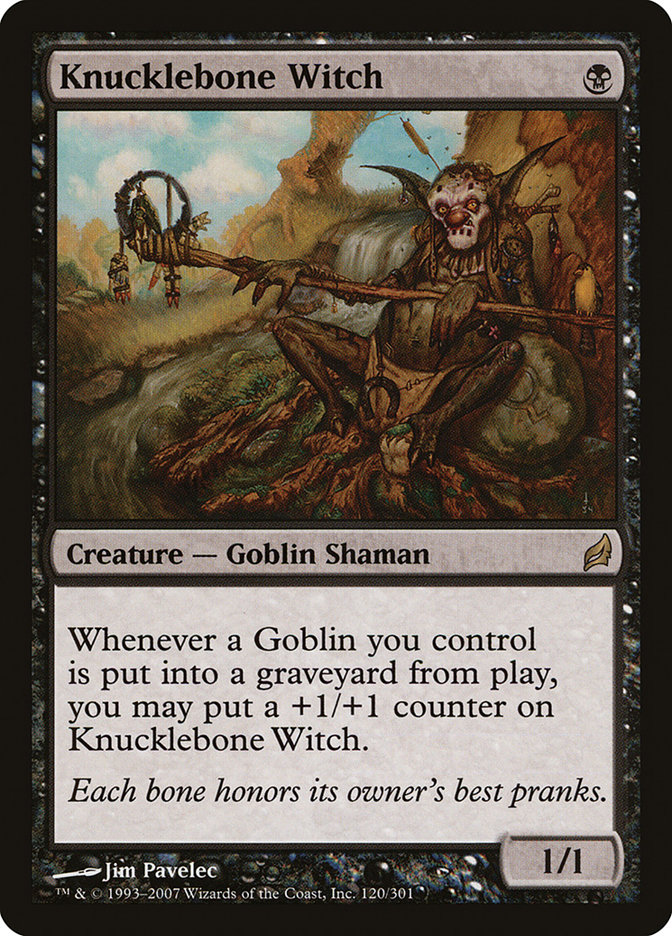 Knucklebone+Witch