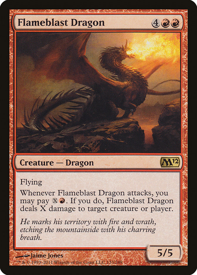 Flameblast+Dragon