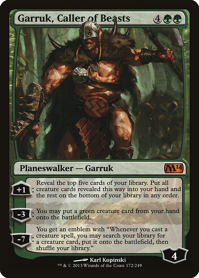 Garruk%2C+Caller+of+Beasts