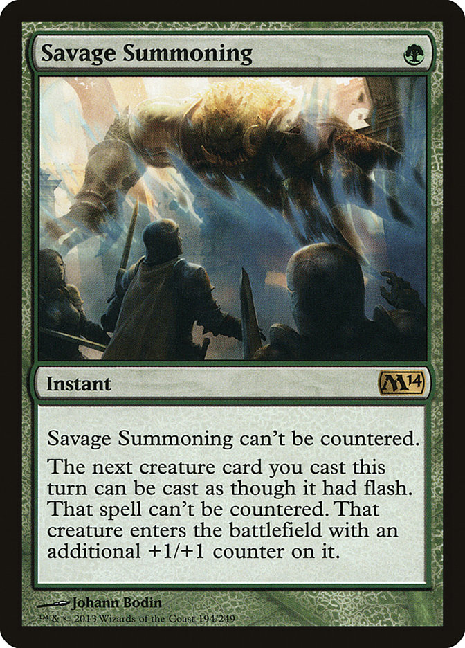 Savage+Summoning