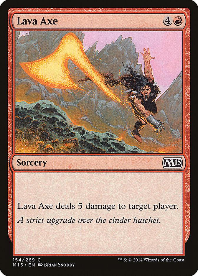 Lava+Axe