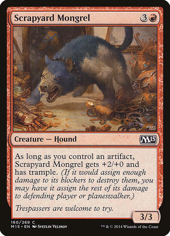 Scrapyard+Mongrel
