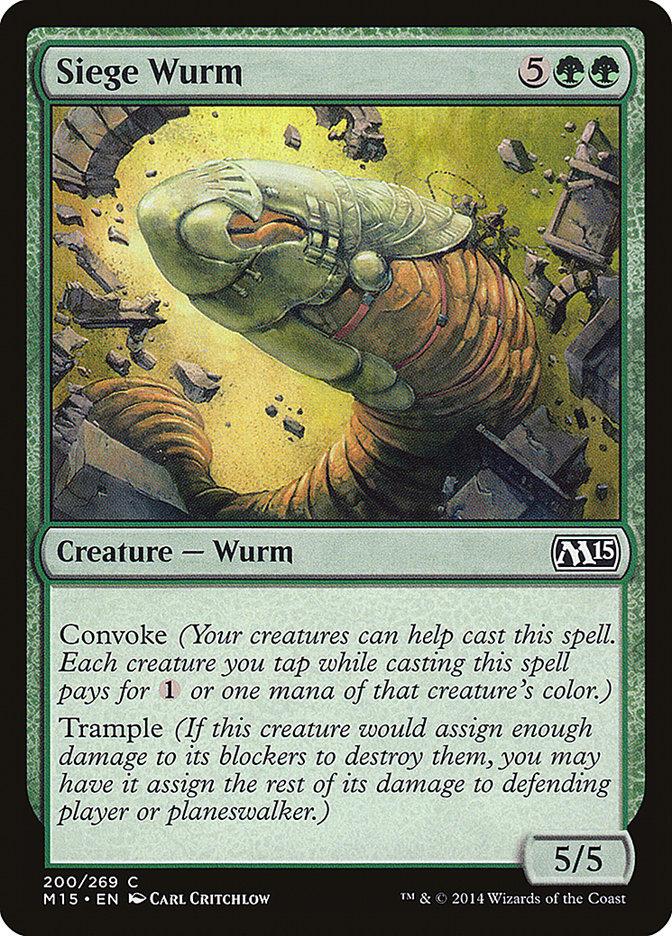 Siege+Wurm