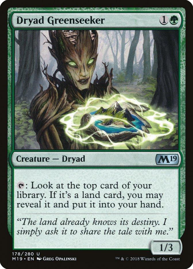 Dryad+Greenseeker