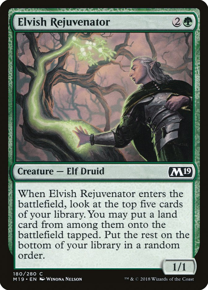 Elvish+Rejuvenator