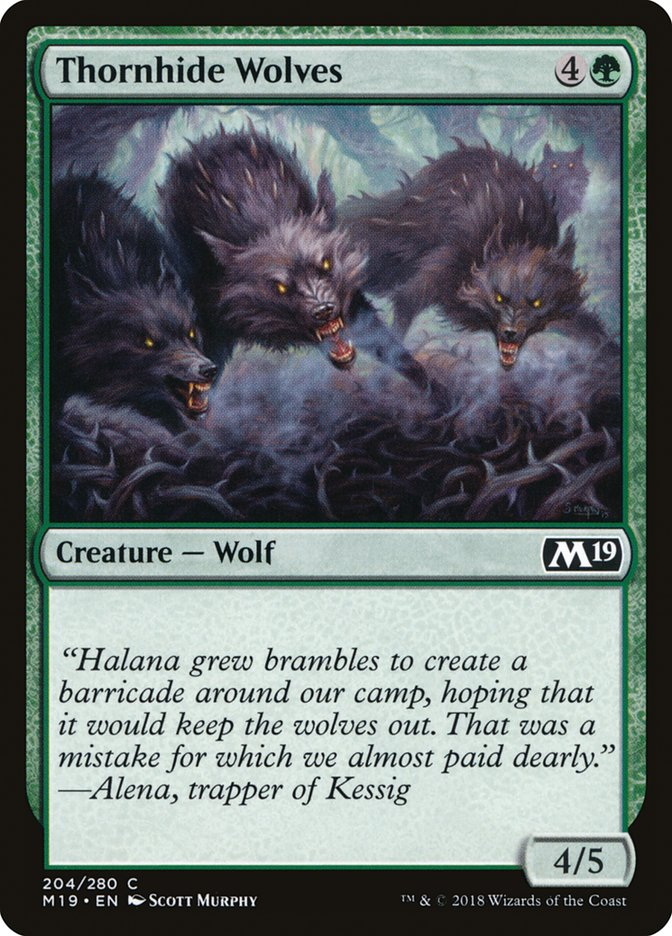 Thornhide+Wolves