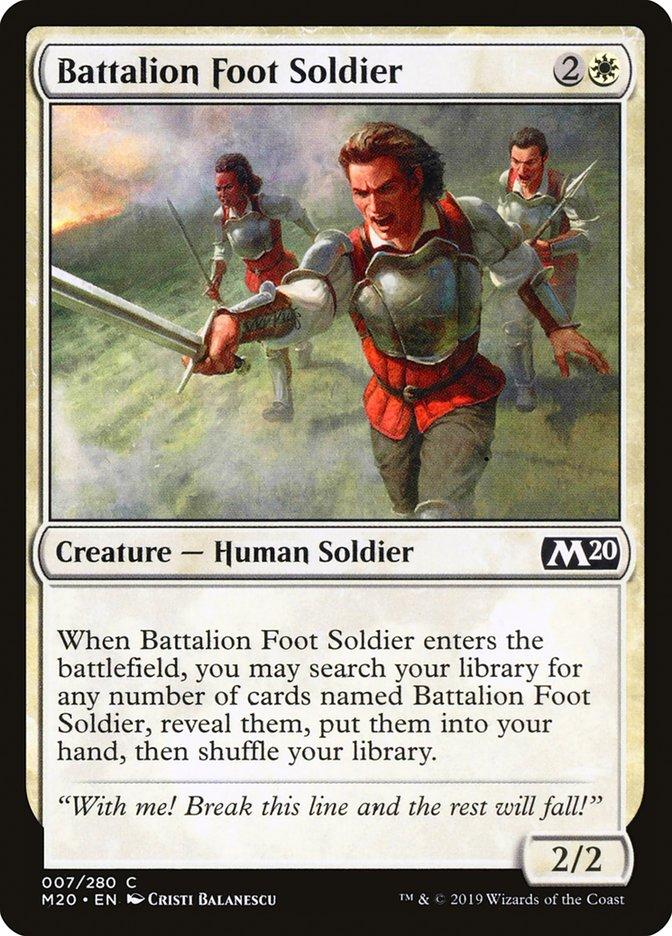 Battalion+Foot+Soldier