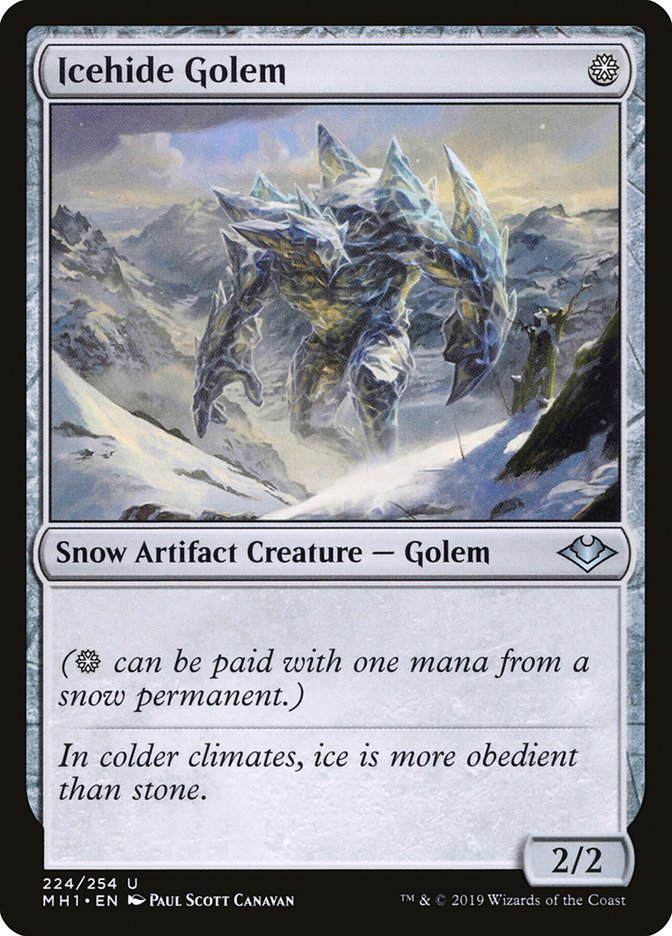 Icehide+Golem