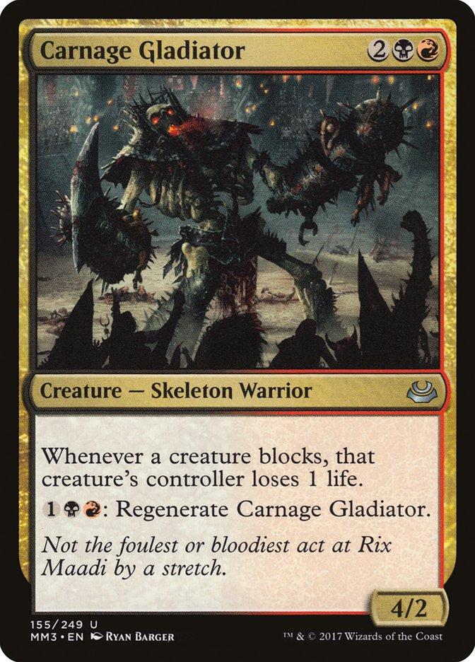 Carnage+Gladiator