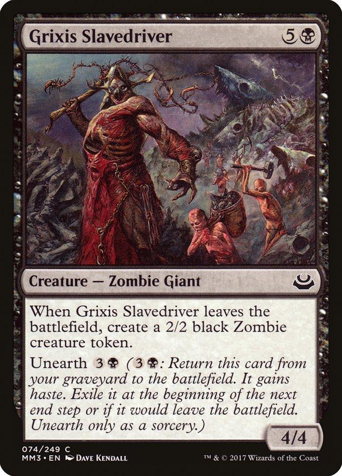 Grixis+Slavedriver