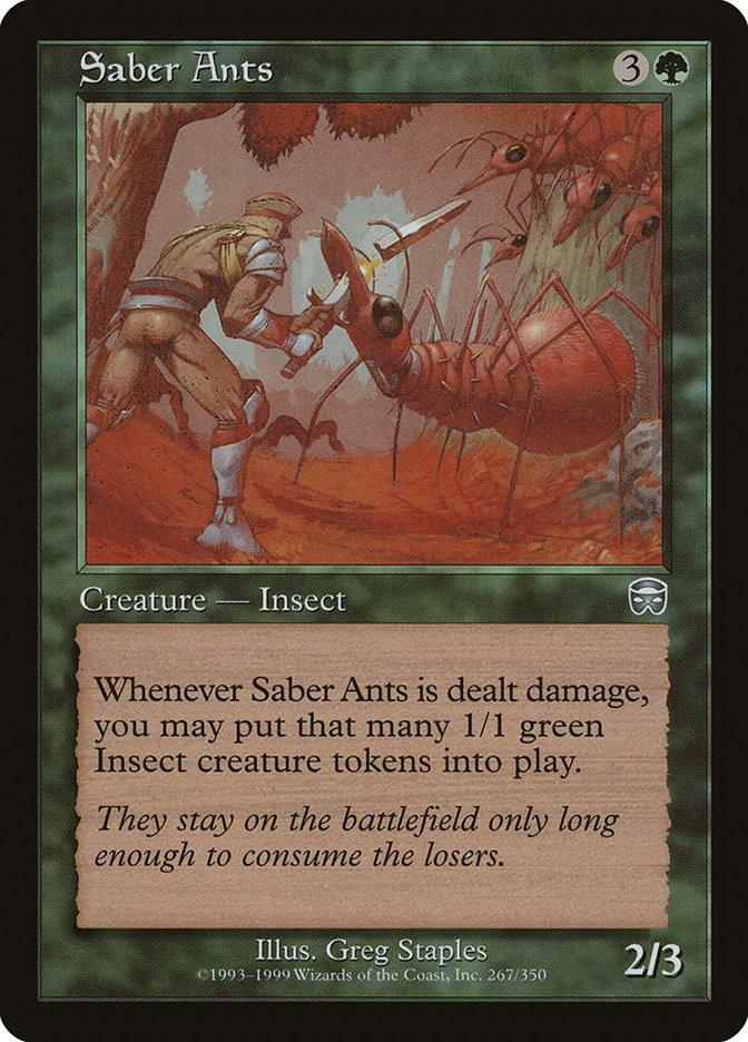 Saber+Ants