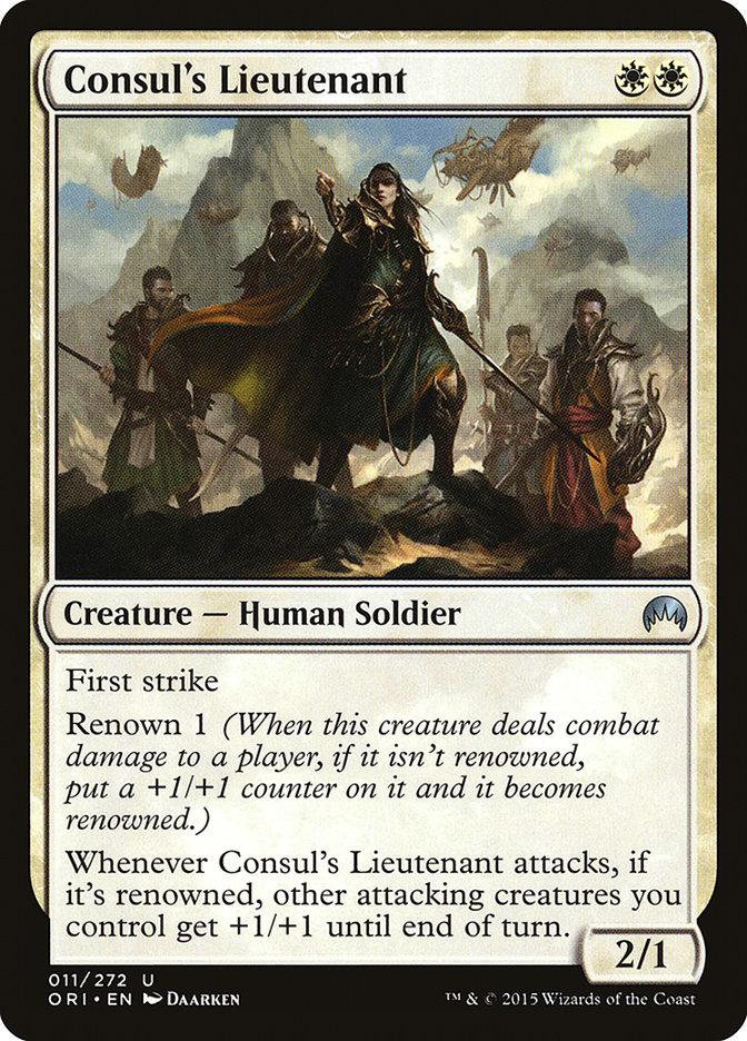 Consul%27s+Lieutenant