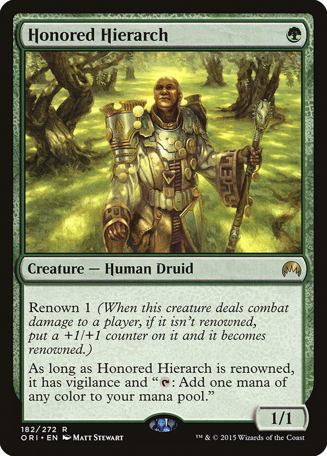 Honored+Hierarch