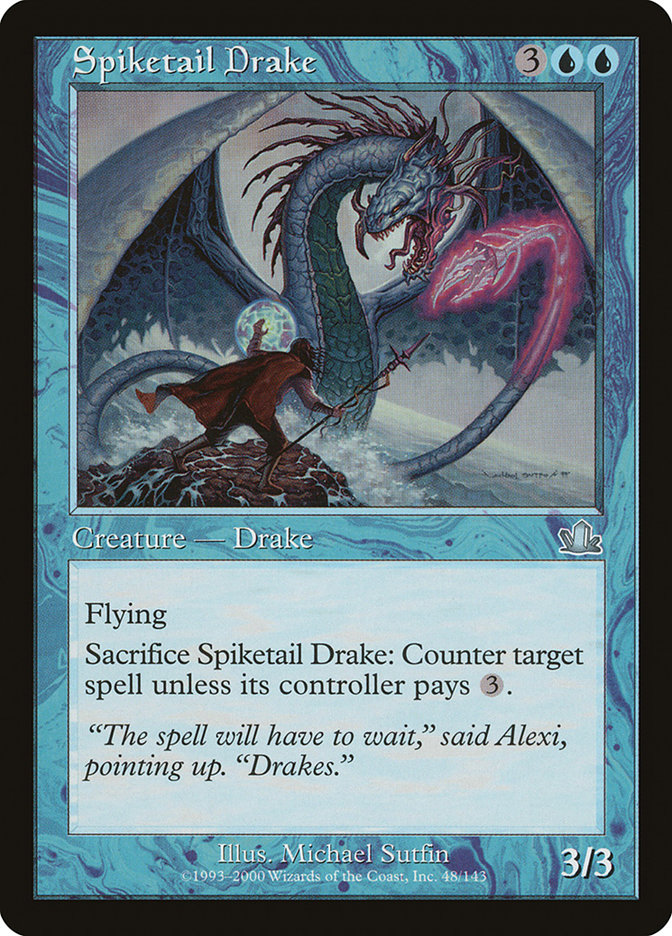 Spiketail+Drake