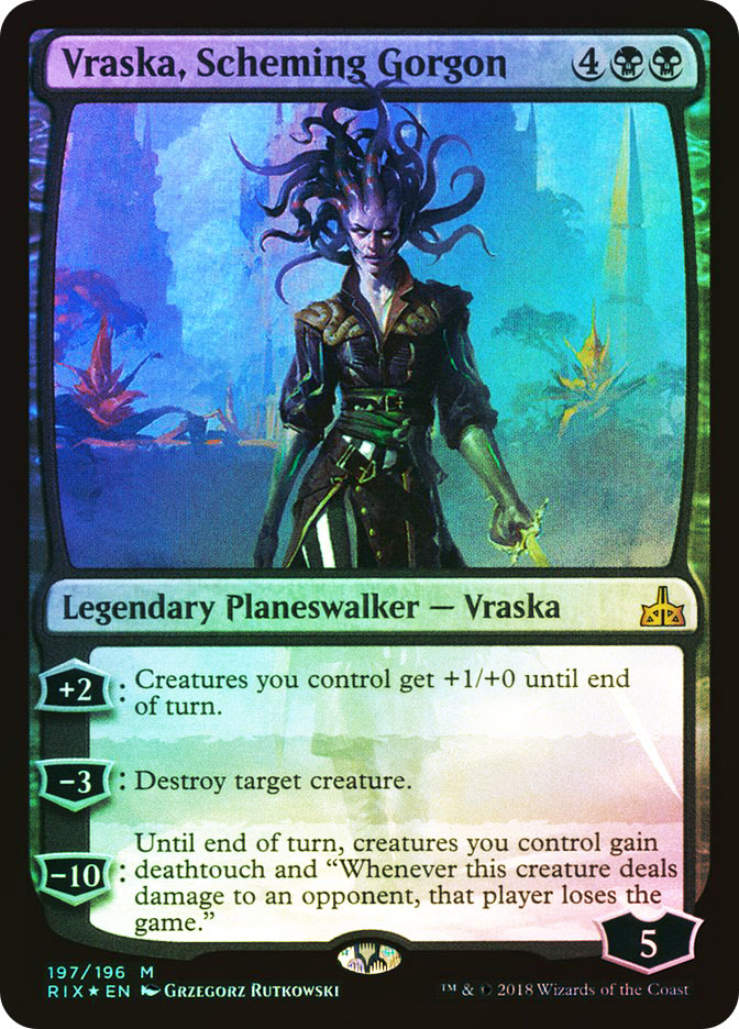 Vraska%2C+Scheming+Gorgon