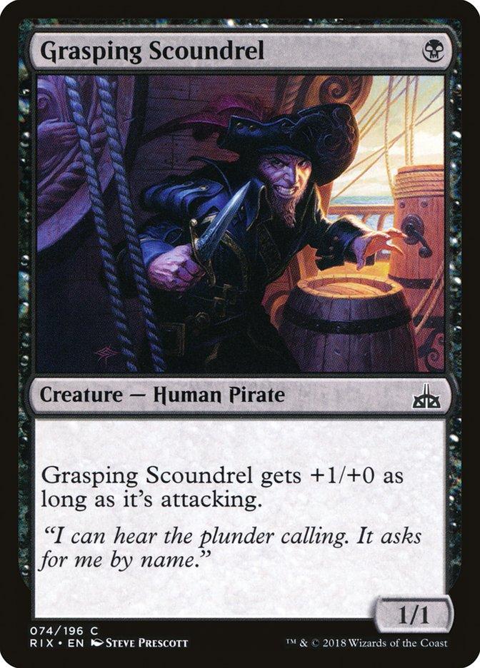 Grasping+Scoundrel