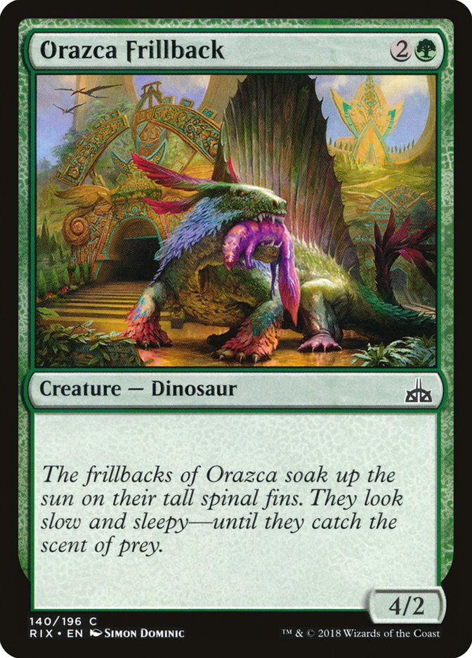 Orazca+Frillback