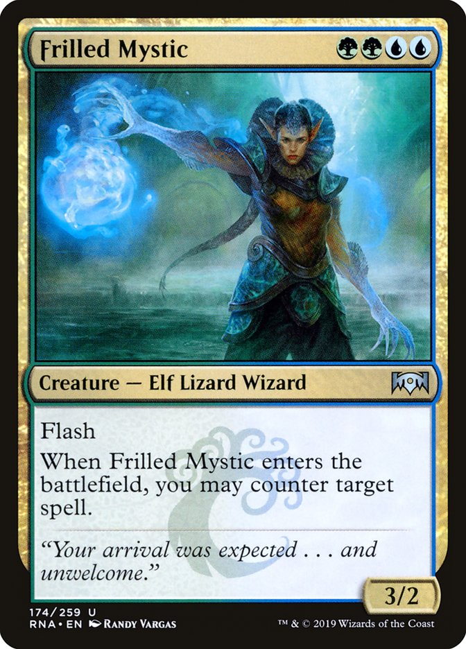 Frilled+Mystic