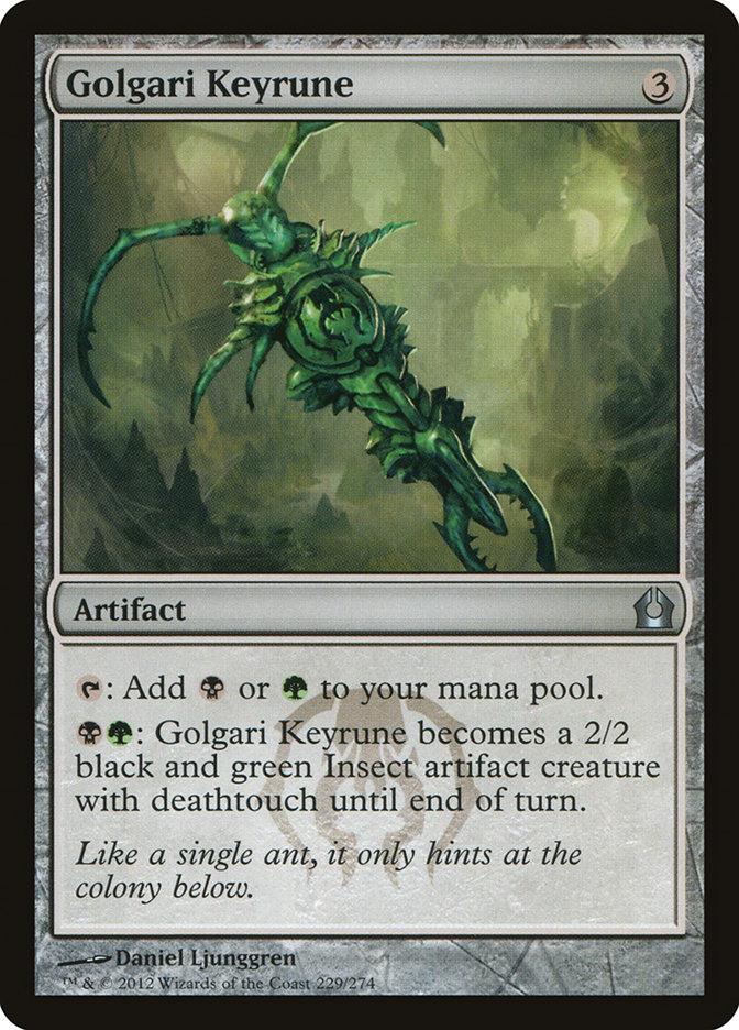 Golgari+Keyrune