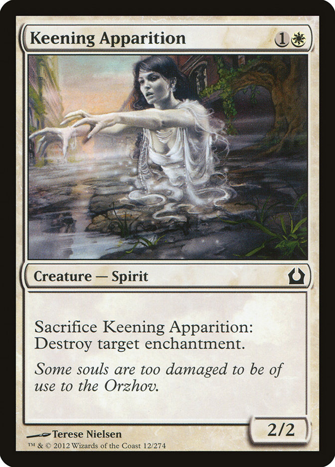 Keening+Apparition