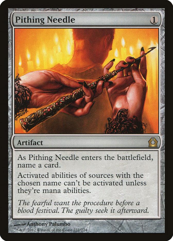 Pithing+Needle