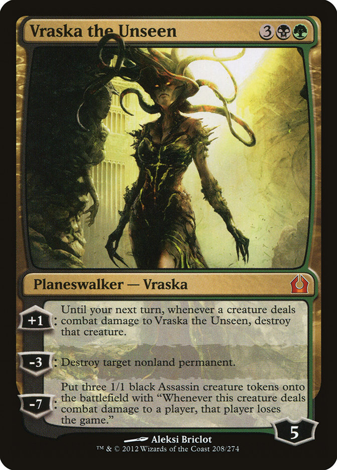 Vraska+the+Unseen