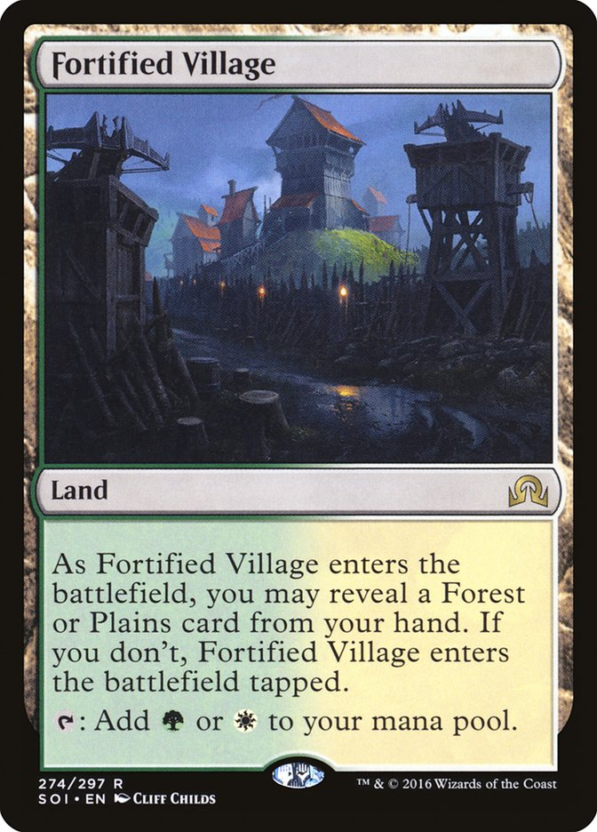 Fortified+Village