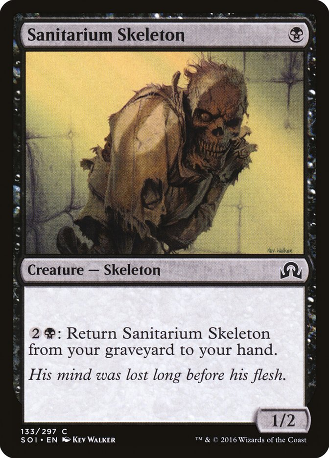 Sanitarium+Skeleton
