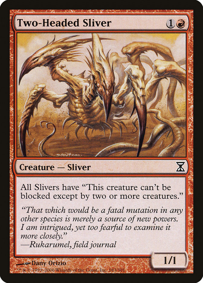 Two-Headed+Sliver