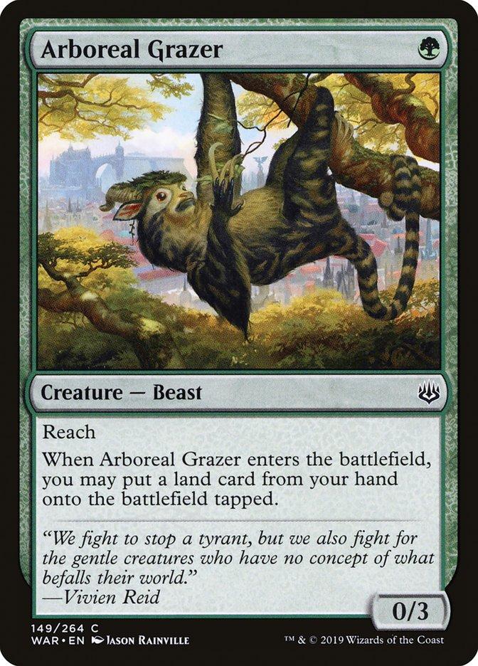Arboreal+Grazer