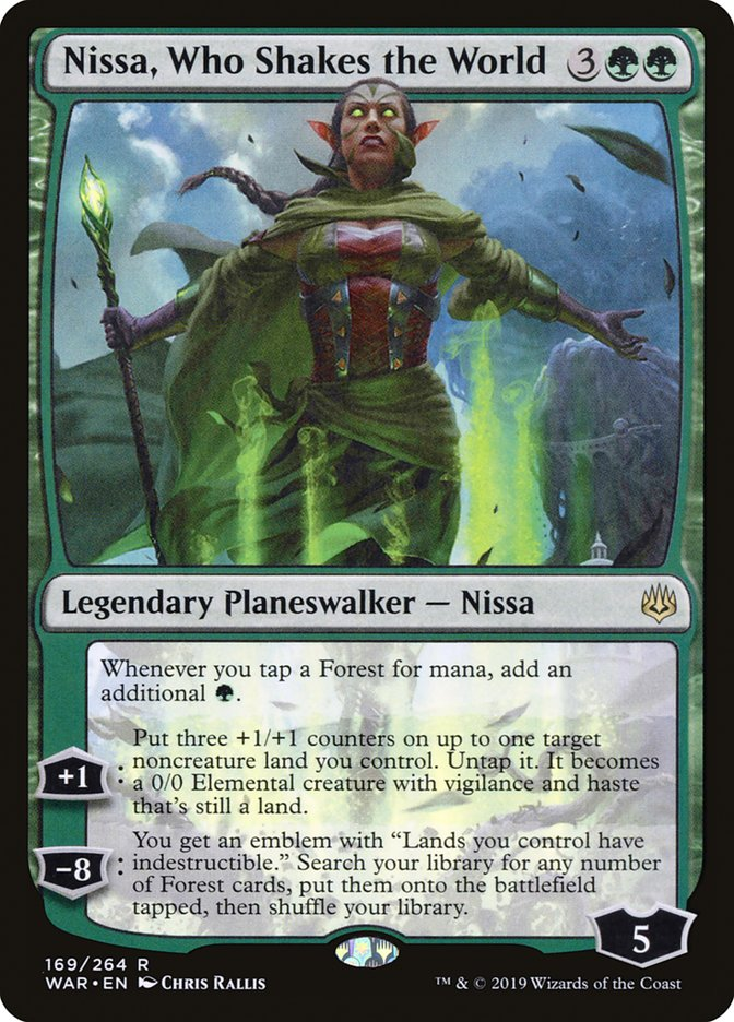 Nissa%2C+Who+Shakes+the+World
