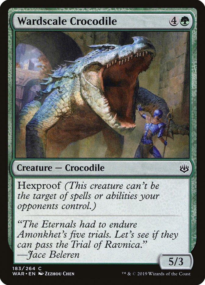 Wardscale+Crocodile