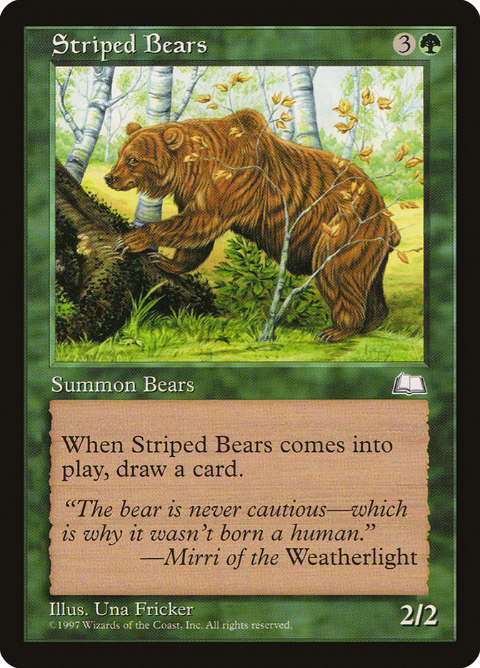 Striped+Bears