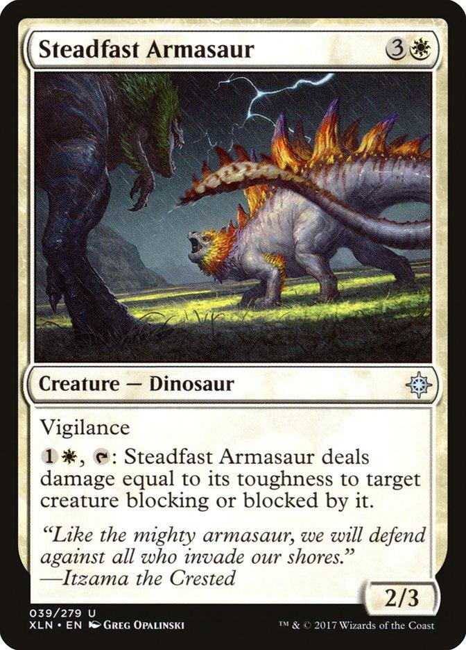 Steadfast+Armasaur