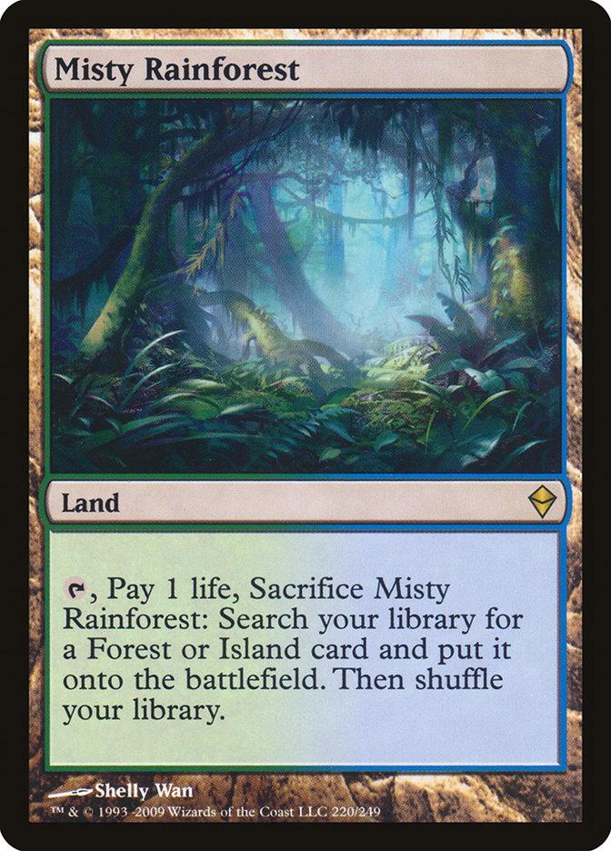 Misty+Rainforest