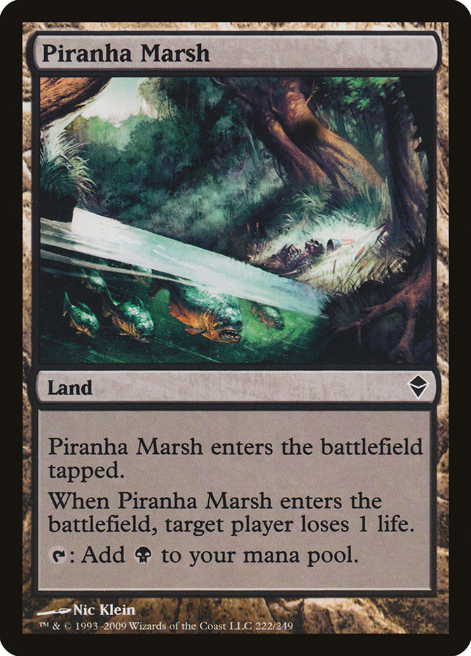 Piranha+Marsh