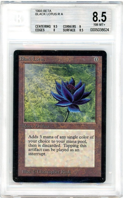 Black Lotus (Beta) (BGS 8.5) (#0005038624)