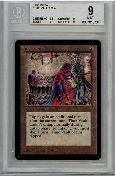 Time Vault (Beta) (BGS 9) (#0007813734)